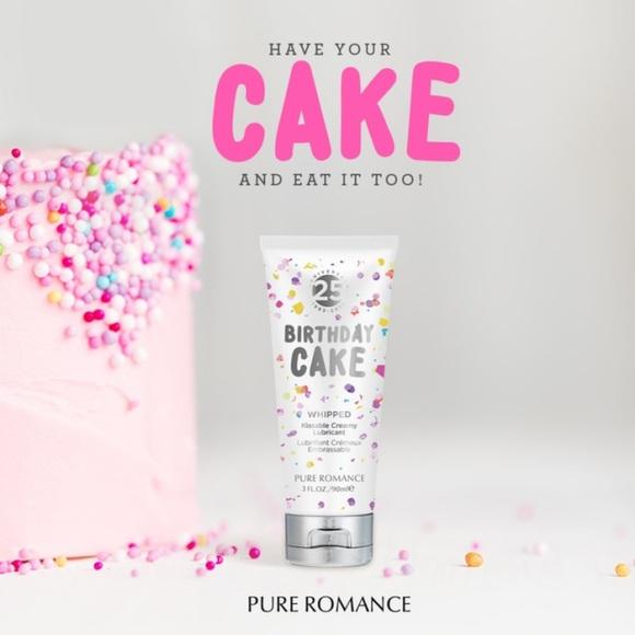 Pure Romance Other Whipped Birthday Cake Poshmark